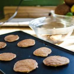 Cheesy Wheat Pancakes Recipe
