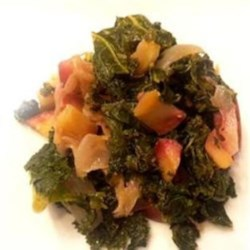 Sauteed Kale with Apples Recipe