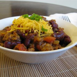 Thirty Minute Chili Recipe