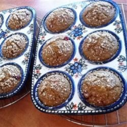 Cran-Orange Oatmeal Muffins Recipe