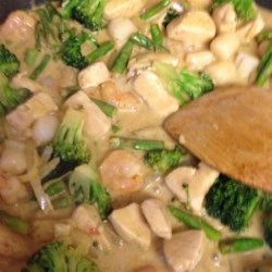 Paleo Coconut Curry Stir Fry Recipe