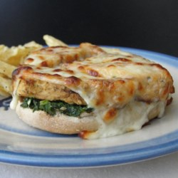 Kale Pesto English Muffin Pizza Recipe