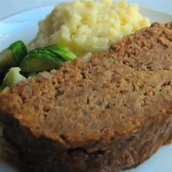 Savory Buttermilk Meatloaf  Recipe