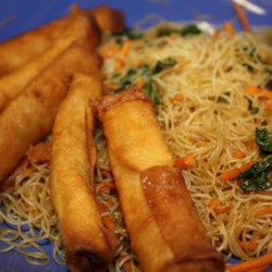 Grandma Nena's Lumpia and Pancit Recipe
