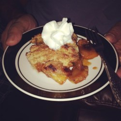 Sheila's Peach Cobbler with Pecans
