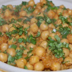 Chana Masala (Savory Indian Chick Peas) Recipe