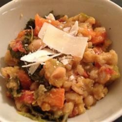 Kale, White Bean, and Farro Stew Recipe