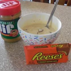 Yummy Peanut Butter Cup Ice Cream Recipe