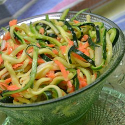 Zucchini and Carrot Coleslaw