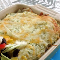 Spinach and Chicken Enchiladas Recipe