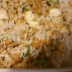 Quick Chicken and Stuffing Casserole Recipe