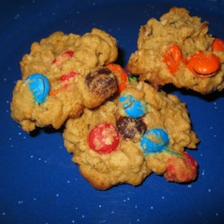 Oatmeal MM Cookies Recipe