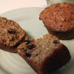 Nutty Raspberry Chocolate Muffins Recipe