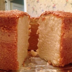 Buttermilk Pound Cake II Recipe