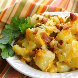 Pat's Baked Potato Salad  Recipe