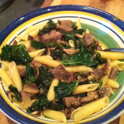 Kale and Mushroom Side Recipe