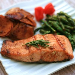 Cardamom Maple Salmon Recipe