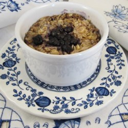 Coconut-Blueberry Baked Oatmeal Recipe
