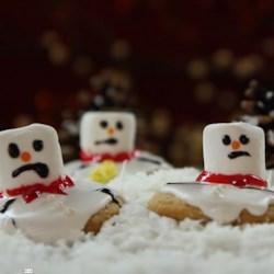 Melted Snowman Cookies Recipe Allrecipes Com