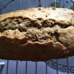 Healthier Banana Sour Cream Bread Recipe