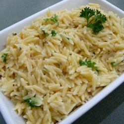 Parmesan Garlic Orzo Recipe