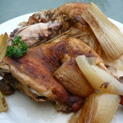 Simple Slow Roast Chicken Recipe