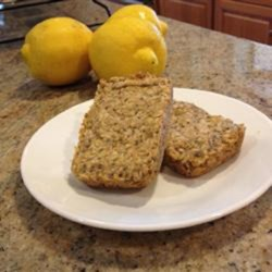 Healthy Lemon Chia Oat Bars Recipe