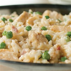 Chicken Carbonara Risotto
