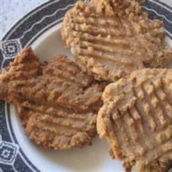 Grain-Free Peanut Butter Cookies Recipe