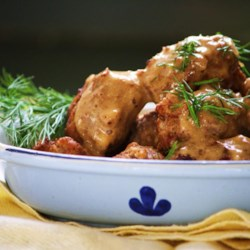 Swedish Meatballs (Svenska Kottbullar) Recipe