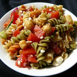 Sandy's Greek Pasta Salad Recipe