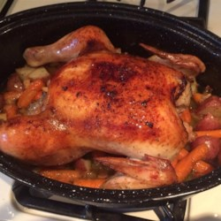 Roast Chicken and Vegetables Recipe
