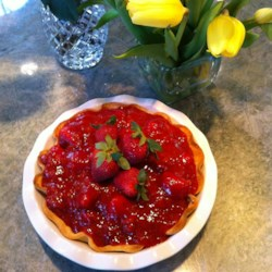 Deep Dish Strawberry Pie