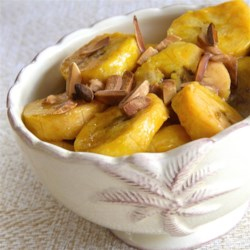 Plantains in Butter Rum Sauce Recipe