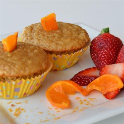 Orange Oatmeal Muffins Recipe