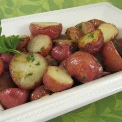 Oven Baked Parsley Red Potatoes Recipe