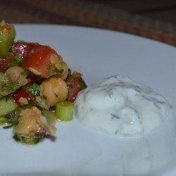 Tzatziki Sauce -Yogurt and Cucumber Dip
