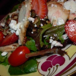 Strawberry and Feta Salad II Recipe