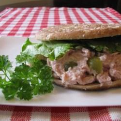 Ham Salad Pitas Recipe