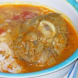 Kabritu Stoba (Dutch Antilles Goat Stew) Recipe