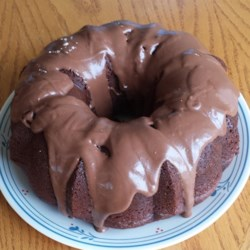 Black Out Cake from the Fifties Recipe