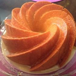 Crumbly Lemon Bundt Cake with Glaze