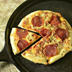 Campfire Pepperoni Pizza Recipe