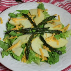 Roasted Asparagus and Apple Salad