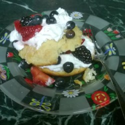 Summer Fruit Shortcakes Recipe