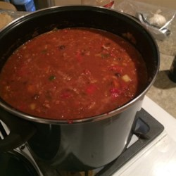 Chicken and Chorizo Chili Recipe