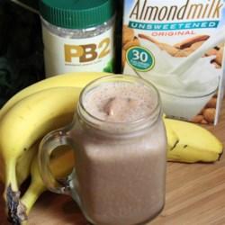 banana peanut butter smoothie printer friendly