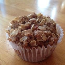 rhubarb crisp muffins printer friendly