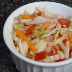 Sweet-and-Sour Coleslaw