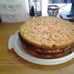 Chocolate Chip Cookie Layer Cake Recipe